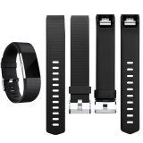 Silicone Strap for Fitbit Charge2 Band Fitness Smart Bracelet Watches Replacement Sport Strap Bands for Fitbit Charge 2 - intl - 3