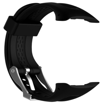 Silicone Watchband Replacement + 1 Set Tools for Garmin Forerunner10/15 - intl