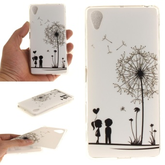 Slim Fit Soft TPU Phone Back Cover For Sony Xperia X (DandelionLover) - intl