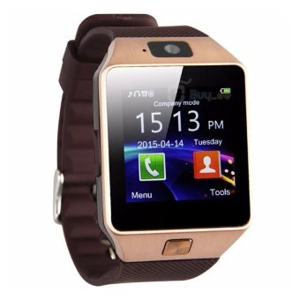 Smart Watch Phone with Sim Card Slot (Brown)