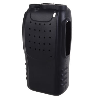 Soft Handheld Rubber Silicon Case for Baofeng BF888s Walkie TalkieTwo Way Radio (Black)