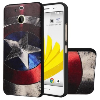 Soft TPU Case For HTC 10 Evo/ HTC Bolt Captain 3D Embossed PaintingSeries Protective Cover - intl Price Philippines