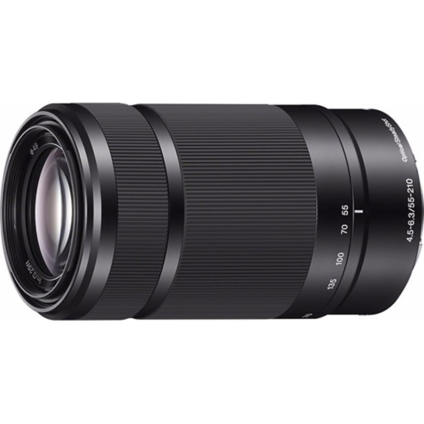 Sony SEL55210 E Mount - APS-C 55-210MM F4.5-6.3, OSS Telephoto Zoom Lens - [Black] - intl