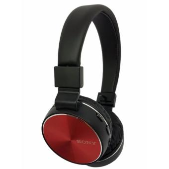 Sony Wireless stereo headphones XB750 (red)