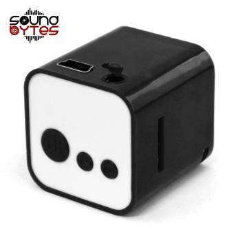 Sound Bytes CUBE MP3 Player Speaker (Black)
