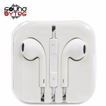 Sound Bytes Model Stereo In-Ear Headphones Earphones (White)