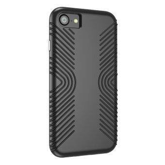 SPECK Shockproof Hybrid PC + TPU Phone Case for iPhone 7 4.7 inch - Black - intl