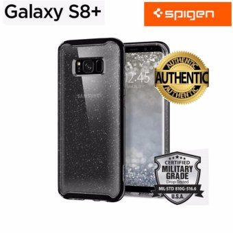 Spigen Premium Case For Samsung Galaxy S8 Plus Neo Hybrid Crystal Glitter (Space Quartz) - intl