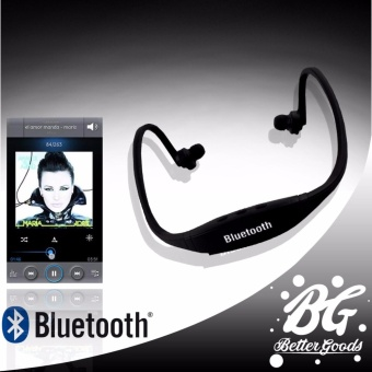 Sports Stereo Bluetooth Headphone With Mic (Black)