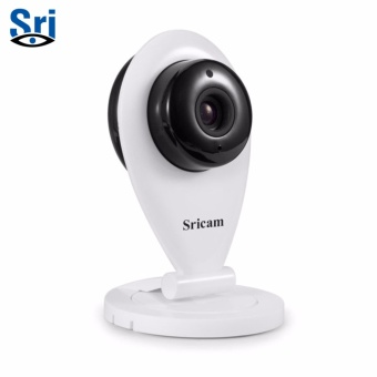 Sricam SP009 1280x720 720P HD Indoor Wireless Wi-Fi CCTV Security IP Camera (White)