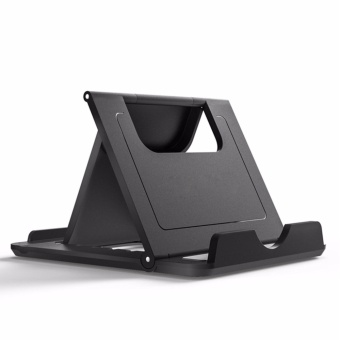 STOD Phone Holder Angel Fold Stand Teble PC For Smartphone Table PCNotebook Desktop Bracket Black White - intl Price Philippines