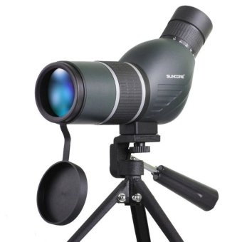 Suncore Spotting Scope Aerospace aluminum monocular telescope with Professional ultra compact tripod for bird-watching - intl