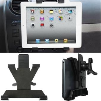 Super Quality Universal Used Car Air Vent Mount Holder Stand ForIPad 3 4 Air Tablet GPS 7 to 10 Inches - intl