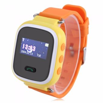 SUPER SALE: Q60 Children Smart Watch Kids Wrist Watch with Anti-lost GPS Tracker SOS Call Location Finder Remote Monitor Pedometer Functions Parent Control By iPhone and Android Smartphones