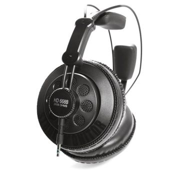 Superlux HD668B Semi-open Dynamic Professional Studio MonitoringHeadphones (Black) - intl