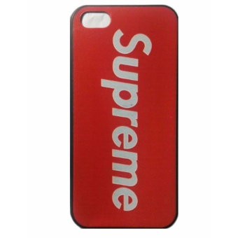 Supreme Matte Red Logo for Iphone 5/5s