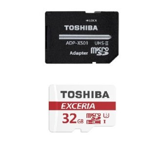 Toshiba MicroSD Card U3 90mb/s Class 10 32GB Exceria with Adapter