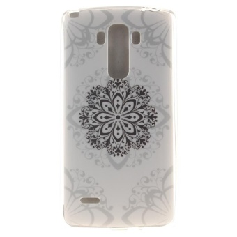 TPU Flexible Soft Case for LG G Stylo / LG G4 Stylus LS770 (MandalaFlower) - intl