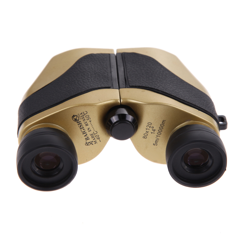 Travel 80 x 120 Zoom Folding Day Night Vision Binoculars Telescope + Bag (Intl)
