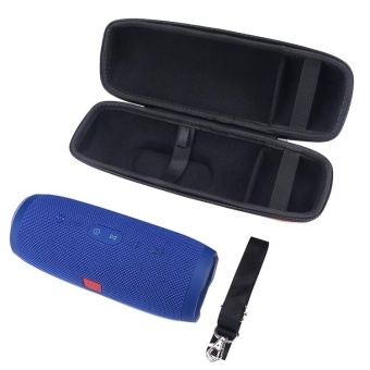 Travel Carry Storage PU Hard Case Bag Pouch for JBL Charge 3Bluetooth Speaker - intl