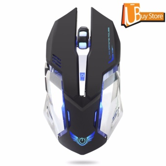 UBUY Backlight RGB Gaming Mice LED USB Wired Programmable PC Gaming Mouse - intl