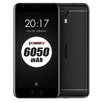 Ulefone Power 2 Android 7.0 Smartphone w/ 4GB RAM 64GB ROM - Black - intl