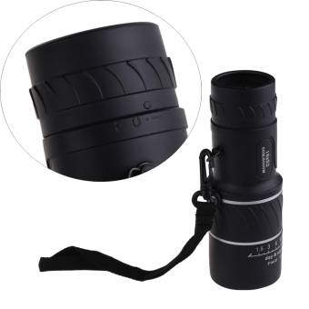 Ultra-compact 16x52 Monocular Spotting Scope Single Tube Telescope+ Pouch
