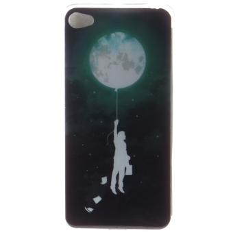 Ultra Thin Soft TPU Phone Back Case Cover For Lenovo S90 Sisley(Balloon Moon)