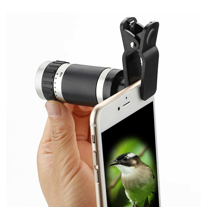 Universal 8X Zoom Optical Lens Telescope For Cellphone Camera - intl
