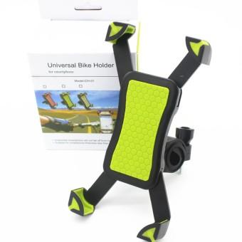 Universal Mountain Motorcycle Bike Bicycle Bike Handlebar Mount Cell Phone Holder - intl