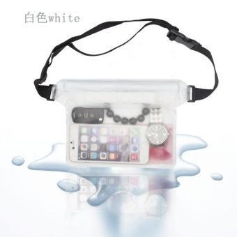 Universal Waterproof Water Resistant Dust Dirt Proof Floating PhoneCase Pouch Dry Bag for Smartphone Tablet -