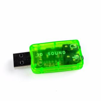 USB 2.0 to 3D Virtual 5.1 Audio Sound Card