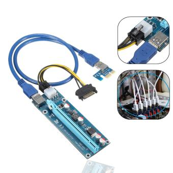 USB 3.0 PCI-E Express 1x to16x Extender Riser Board Card Adapter SATA Cable Price Philippines