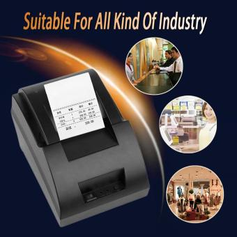 USB Mini 58mm POS Thermal Dot Receipt Bill Printer Set Roll Paper POS-5890C
