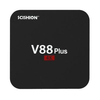 V88 Plus Smart Android 6.0 TV Box RK3229 Quad Core UHD 4K 2G / 8GMini PC WiFi H.265 DLNA Miracast Media Player US Plug - intl Price Philippines