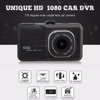 Vehicle BlackBox DVR 5MP Full HD 1080p Dashcam (Black)