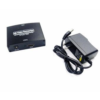 VGA to HDMI Adapter HD VGA Audio and Video Converter to HDMI 1080P