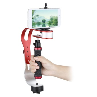 Video Handheld Stabilizer For Gopro Iphone DV Camera & Camcorder With Phone Holder - intl