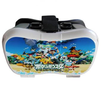 VR Box 3D Virtual Reality Glasses for Smartphone Pikachu Design Price Philippines