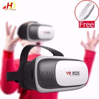 VR Box II 2.0 3D Virtual Reality Glasses for Smartphone with FREE VR Controller Price Philippines