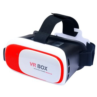 VR Box Plus 3D Virtual Reality Glasses (Red) Price Philippines