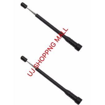 Walkie-talkie rod high gain antenna Baofeng BF-888S UV-5R North peak hand universal UV segment antenna of 2 Price Philippines