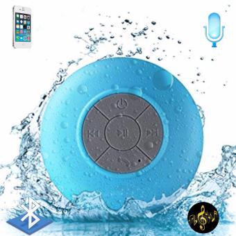 Water Resistant Silicone Bluetooth Speaker (Blue)