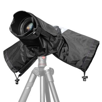 Waterproof Camera Rain Cover Rainshade Protector Case Coat for DSLRCameras Canon Nikon Sony Pentax - intl