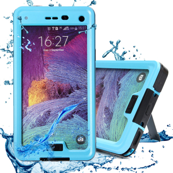 Waterproof/Shockproof/Dirtproof Case Cover Stand For Samsung Galaxy Note 4 N9100