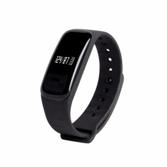 Wearfit Smart Band WP-102 Watch Blood Pressure Monitor forIOS/Android (Black)
