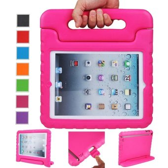 Welink Apple iPad 2/3/4 EVA Case / Shockproof Case Light WeightKids Case Super Protection Cover Handle Stand Case For Apple iPad2/3/4 (Pink)