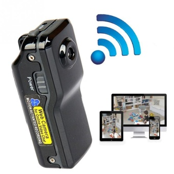 Wireless MD81 Mini Camera 480p Spy Remote Surveillance Hidden WiFiCamera - intl