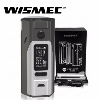 Wismec Reuleaux RX2/3 200W Variable Electronic Cigarette Mod (Gray/Silver)