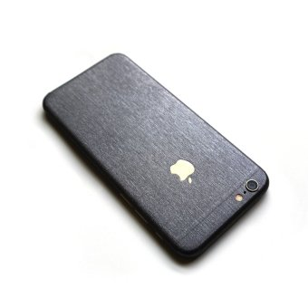 Wrapped Up Premium Full Body Wrap Case for iPhone 6/6s (BrushedSteel)